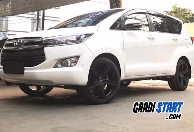 Toyota Innova allloys Modification Ideas in india