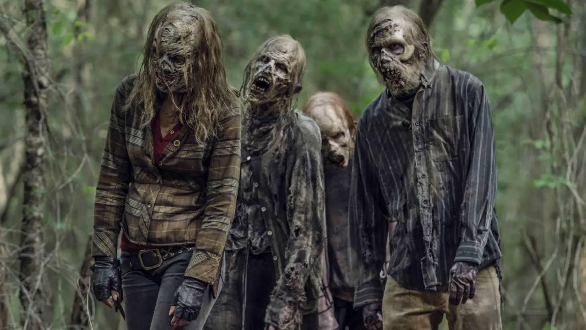 Maggie en la academia zombie de Negan en el 11x07 de The Walking Dead
