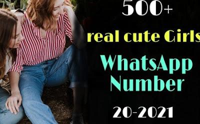 Real Cute Girl Whatsapp Number List