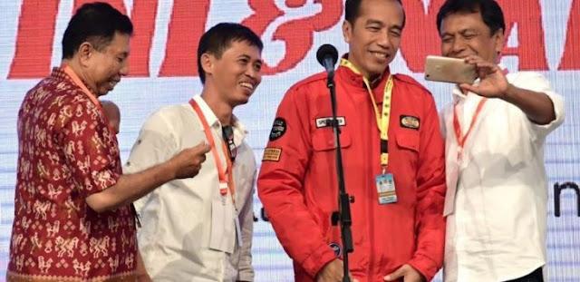 Relawan: Waspada Kepala Daerah Dukung Jokowi Modus Biar Tak Ditangkap KPK