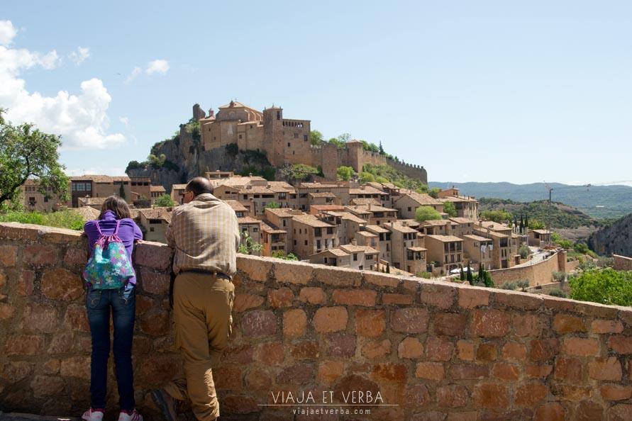 Vistas al Castillo de Alquezar