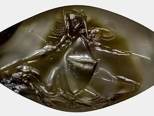 Un sceau sculpté se révèle être un chef d'oeuvre d'art Minoen
