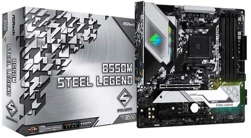 Review ASRock B550M Steel Legend Motherboard