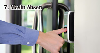 Mesin Absen menjadi tempat yang paling banyak terdapat bakteri di kantor