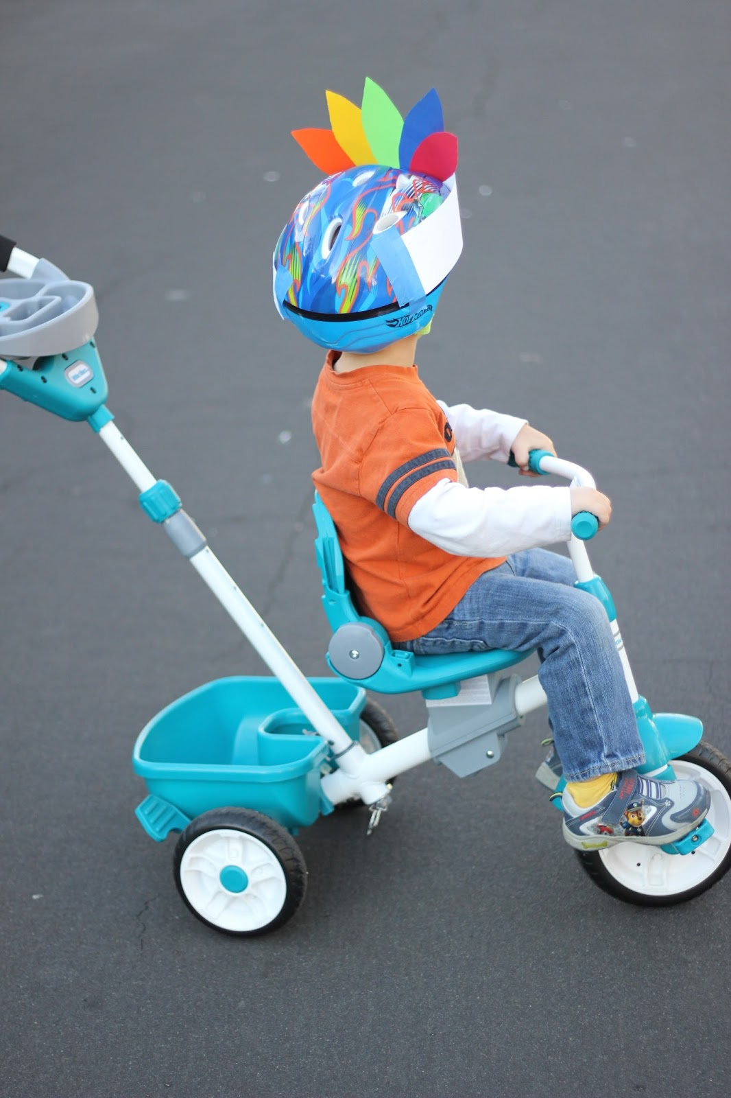 Toddler Approved Host A Turkey Trike Trot With Little Tikes