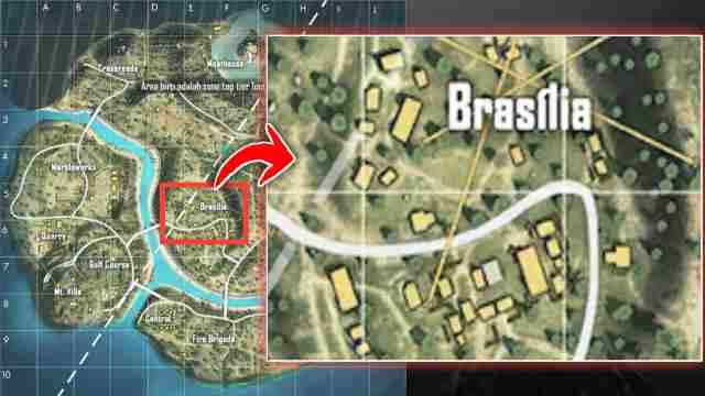 Brasilia, Tempat Looting Terbaik di Purgatory Free Fire