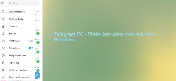 Download Telegram PC cho máy tính Windows miễn phí b