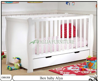 Tempat tidur baby box balita alya