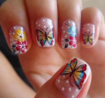 Nail Butterfly Art