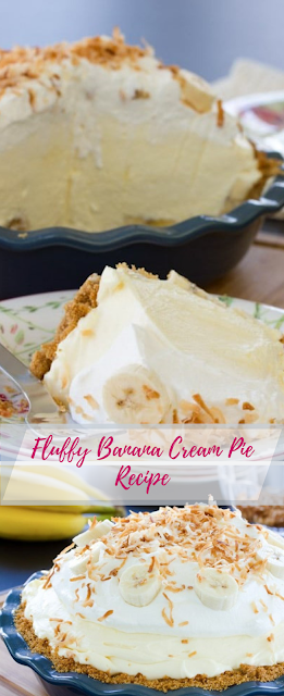 Fluffy Banana Cream Pie Recipe