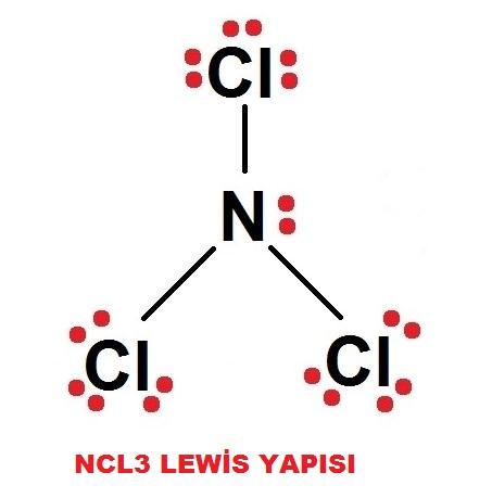 NCI3 Lewis Yapısı