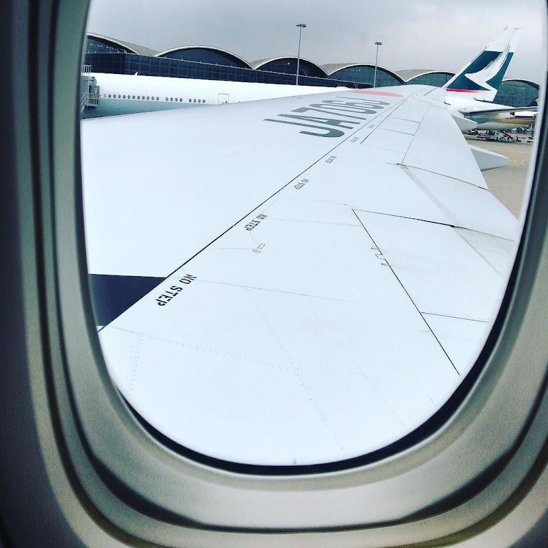 41レグ / 2016-12: JAL026(JL026) / 香港=東京・羽田 【2016年の搭乗メモ】