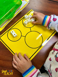 Introducing Addition in Kindergarten with Number Bonds