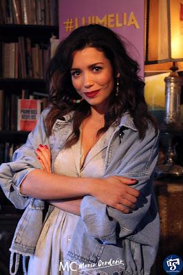 Carol Rovira (Amelia en la presentación de 'Luimelia'