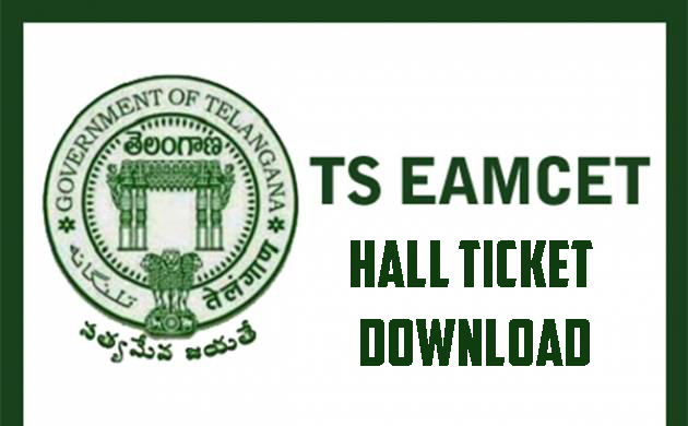TS EAMCET 2019 Hall Ticket Download