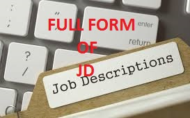 Full Form of JD | What Does JD Stand For