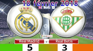 Real Madrid 5 - 3 Real Betis