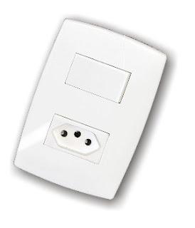 Linha Home: Interruptores, Tomadas, Placas de Acabamento - Garantia Exclusiva de 15 anos.