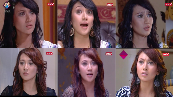 Vista Putri Ummi Salma Ummi Najwa Amih Ratna Sinetron Inayah ganti warna rambut