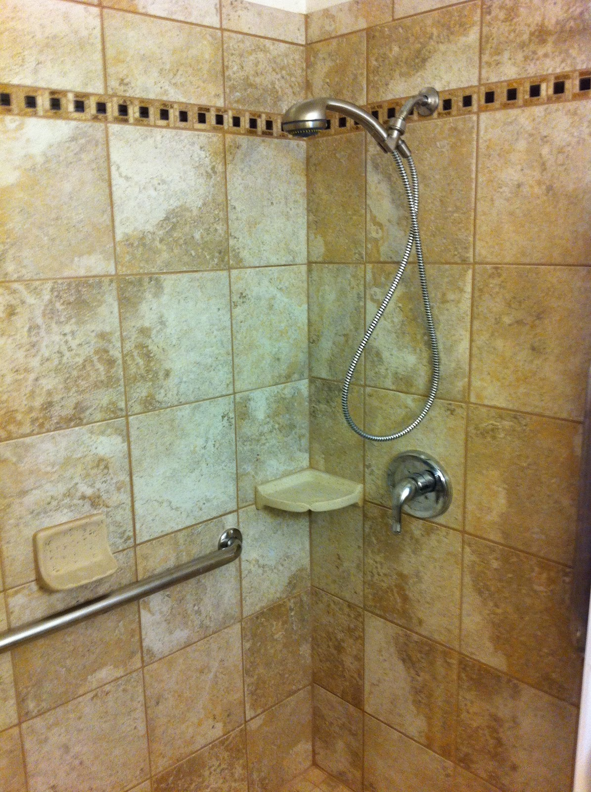 Lapham Construction: Bathroom Remodel With Custom Shower ...