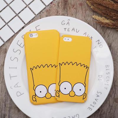 custom case gambar simpson