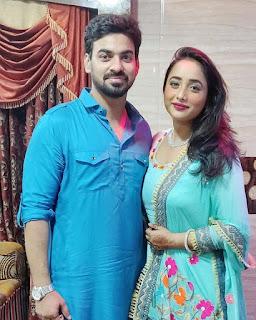 Aditya Ojha and Rani Chatterjee