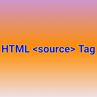 HTML <source> Tag