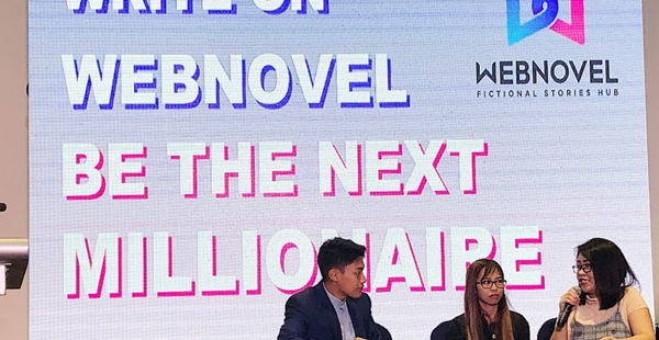 Webnovel at Manila International Book Fair