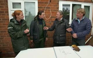 David Domoney, Katie Rushworth, Alan Titchmarsh and Frances Tophill