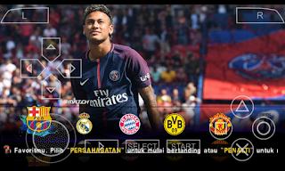 PES Jogress V3 PPSSPP Savedata + Textures Background Neymar 2017 - 2018