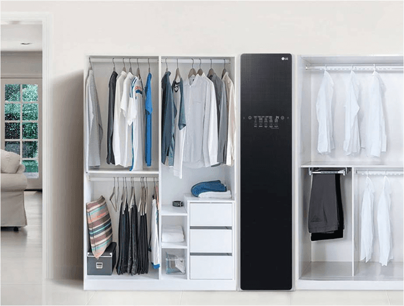 The clean and compact look of LG Styler