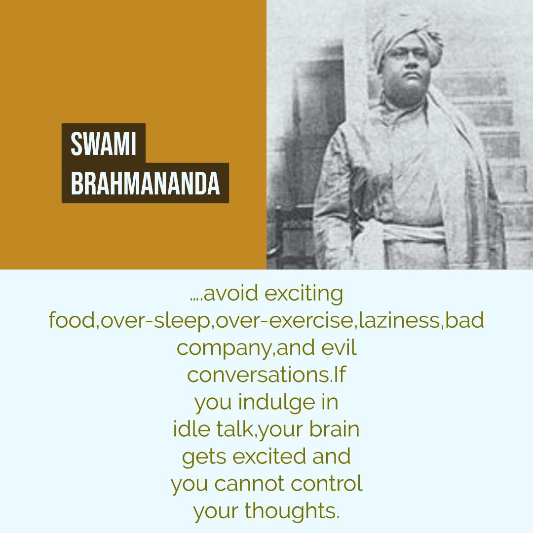 Swami Brahmananda Quotes