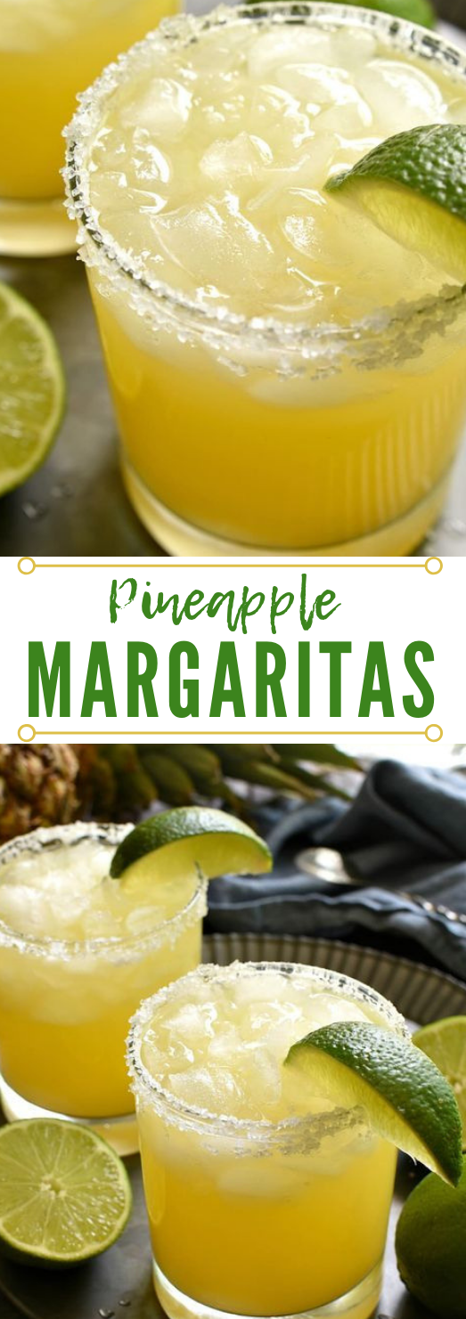 PINEAPPLE MARGARITAS #drink #healthy #smoothie #coktail #banana