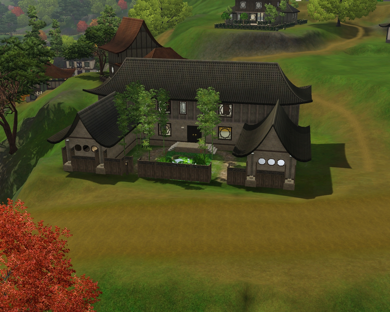summer 39 s little sims 3 garden shang simla the sims 3 world adventures list of occupied houses