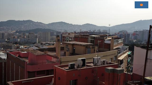 "Veduta dal quartiere de ""les Roquetes"""