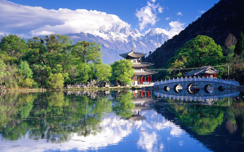 Green Nature: High Resolution Widescreen Nature Wallpapers