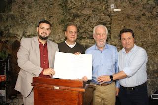 Gabriel Rosa representa o Estado de São Paulo no Encontro da Grande Reserva da Mata Atlântica no Paraná