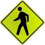 pedestrian crossing in spanish