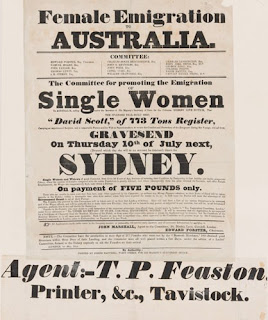 Advertisement for Australia immigration