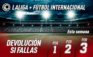 sportium Fútbol Combinadas con seguro 19 julio 2020
