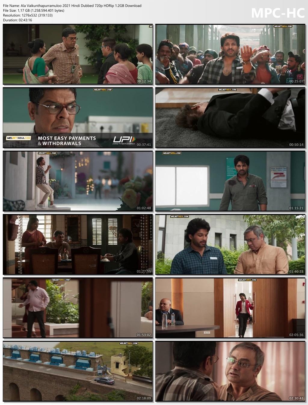 Ala Vaikunthapurramuloo Full Hindi dubbed Movie