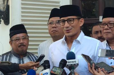 Sandiaga Uno Mundur dari Jabatan Wagub DKI Jakarta dan Keluar dari Partai Gerindra