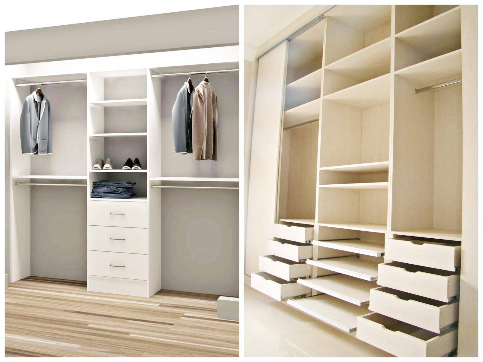 Diseño de armarios y cómo organizarlos
