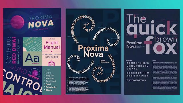 Proxima-fonts
