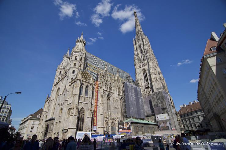 Catedral de San Esteban - Viena, por El Guisante Verde Project