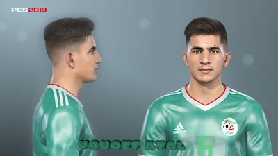PES 2019 Faces Youcef Atal By Prince Hamiz