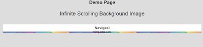 Cara Membuat Infinite Scrolling ANTV Background Image Di Blogger