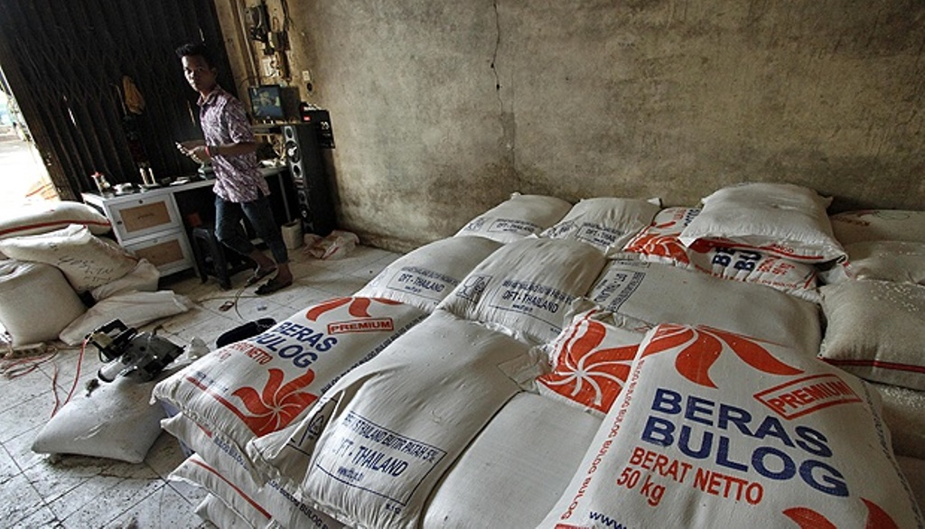 Bulog Subang Pastikan Stok Beras Aman Sampai 8 Bulan Kedepan