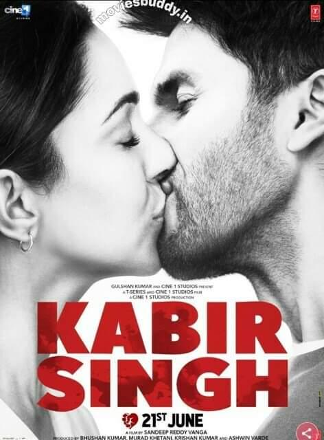 Download Kabir Singh 2019 Hindi 1GB PreDvDRip x264