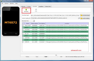Cara flash hp android Mtk Mediatek via Sp flashtool
